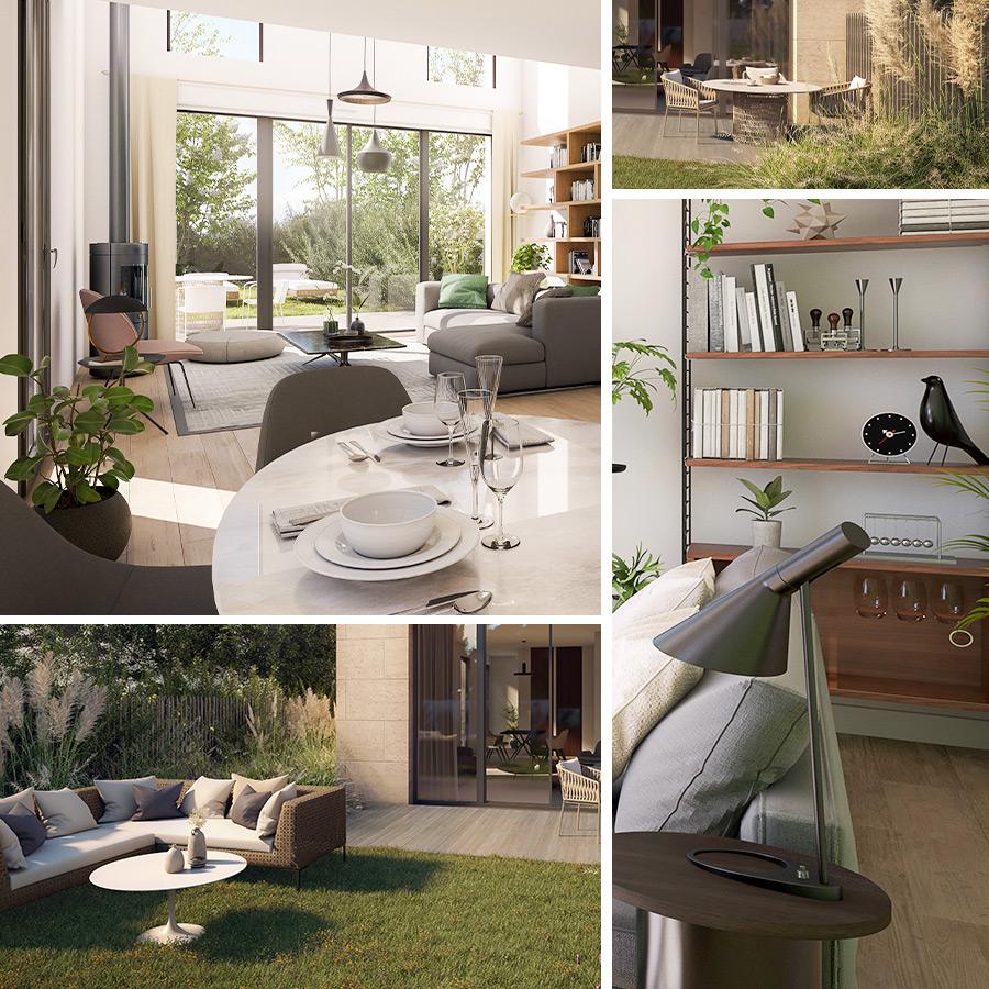 Programme immobilier solutions 3D Novecento Le Bouscat