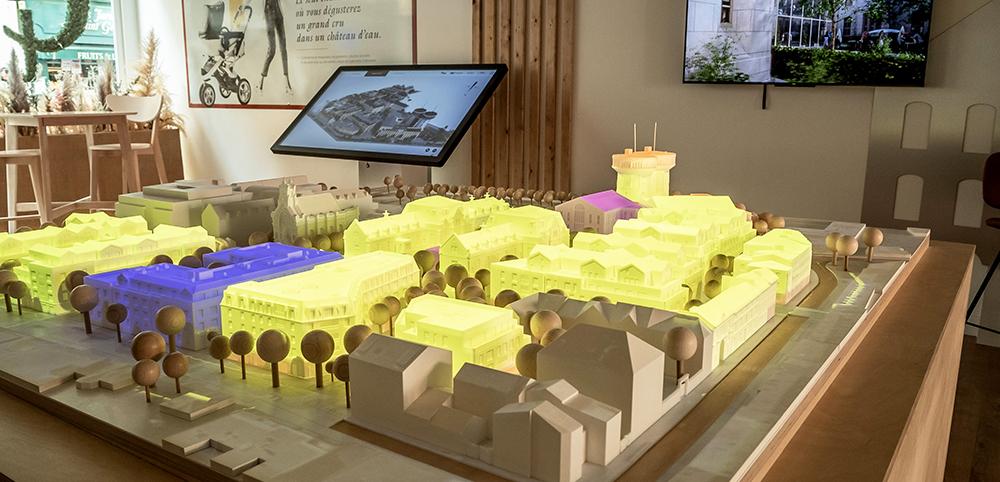 Quelle évolution de la maquette physique pour la promotion immobilière ?